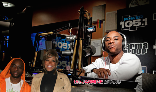 [Audio] Charlamagne Says Wendy Williams Diss Hurt Him: I could NEVER talk bad about her!