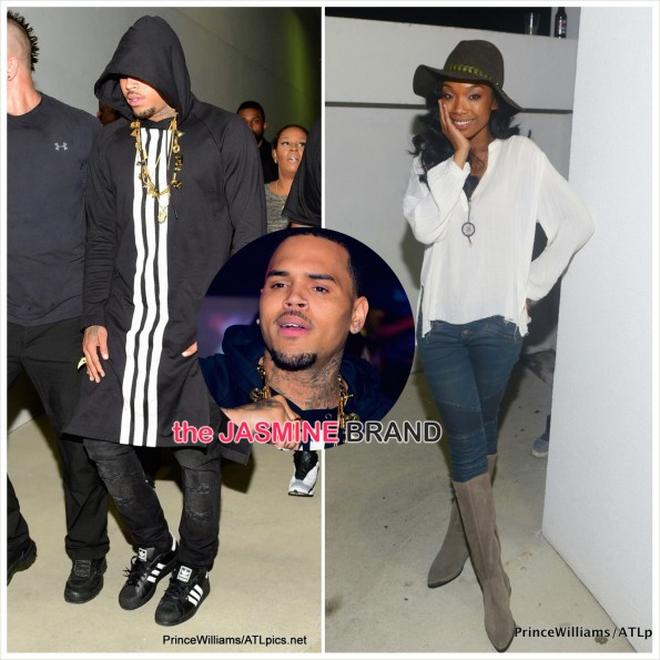Chris Brown and Brandy party in atlanta-the jasmine brand