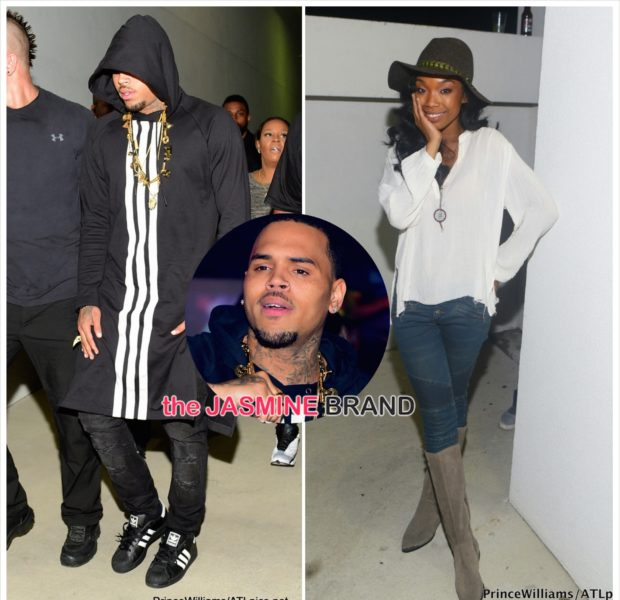 Chris Brown & Brandy Party in Atlanta [Photos]