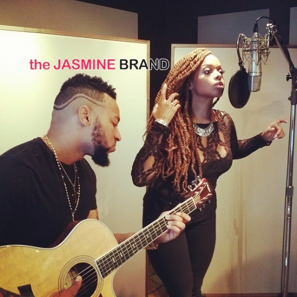 Chrisette Michele-Studio-the jasmine brand