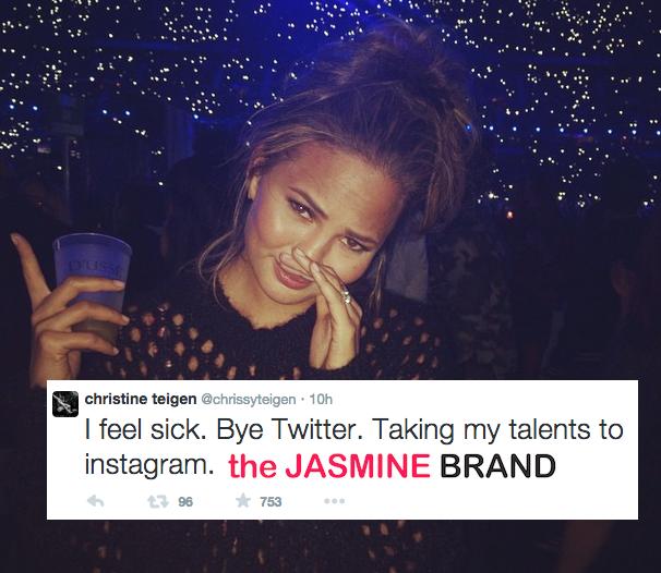 Chrissy Teigen Quits Twitter After Death Threats: I Feel Sick