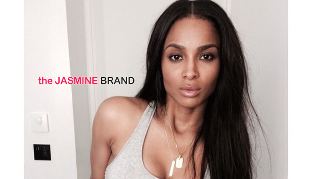Show Off! Ciara Poses In Undies, Revealing Post Pregnancy Body