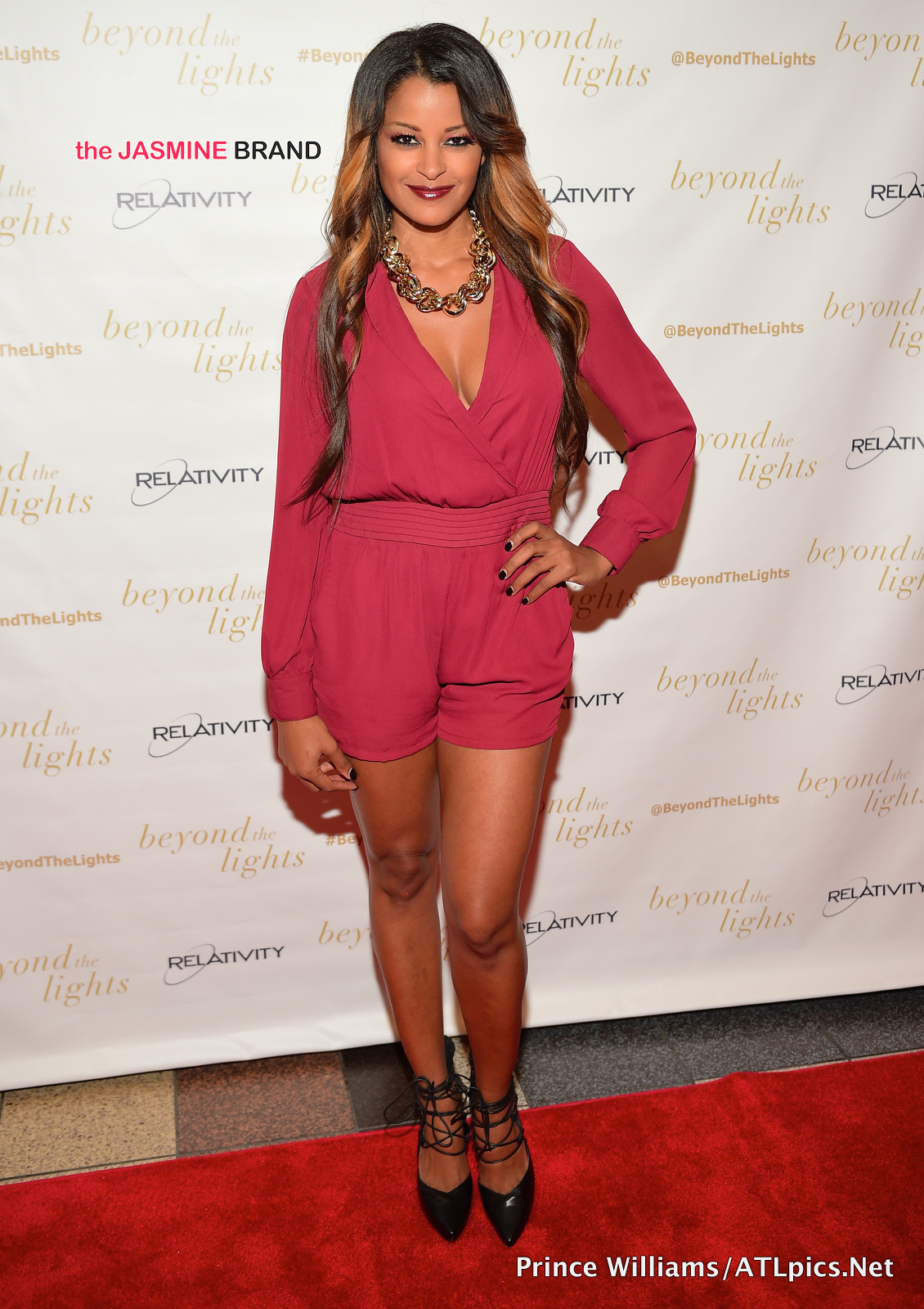 Claudia Jordan-Beyond the Lights premiere-the jasmine brand