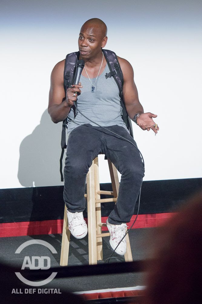 Dave Chappelle Pops Up At Russell Simmons Def Comedy