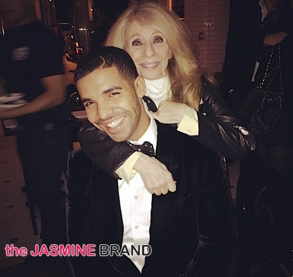 Drake Celebrates 28th Birthday with Dinner-Mom-the jasmine brand