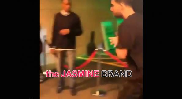 Drake-Fight Altercation-DC Stadium-the jasmine brand