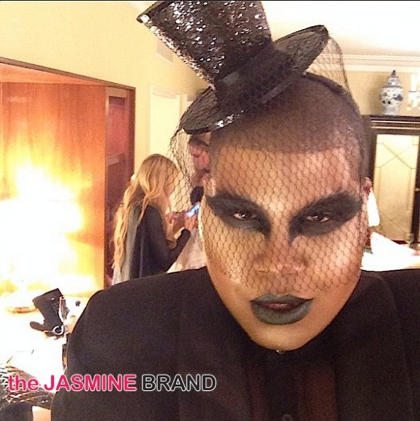 EJ Johnson-celebs-halloween costumes 2014-the jasmine brand