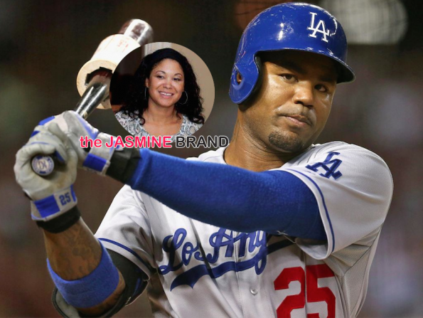 EXCLUSIVE-LA Dodgers Carl Crawford Loses Legal Battle With Baby Mama Amy Freeman-the jasmine brand