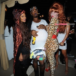 Amber Rose celebrates her birthday with a surprise costume themed party
