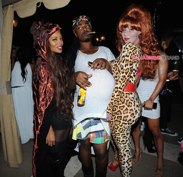 Amber Rose Throws Halloween Themed Birthday Bash: Chris Brown, Karrueche, Eva Marcille, Nelly, Blac Chyna Attend