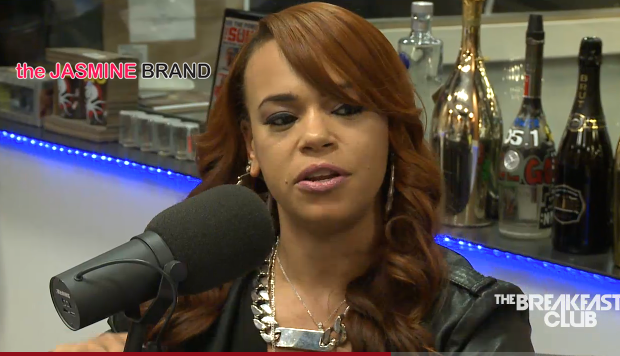 [VIDEO] Faith Evans Talks Lil Kim Throwing Shade, Son's Sexuality & Crackhead Rumors