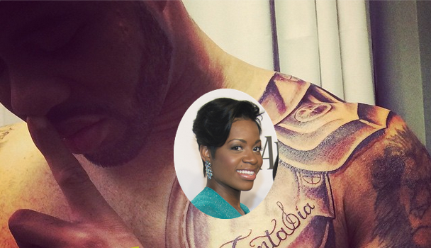 [Inked Out For Love] Fantasia's Rumored Husband Gets Her Name Tatted On His Chest