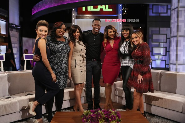 Flex and Shanice-Talk Reality Show On The Real-the jasmine brand