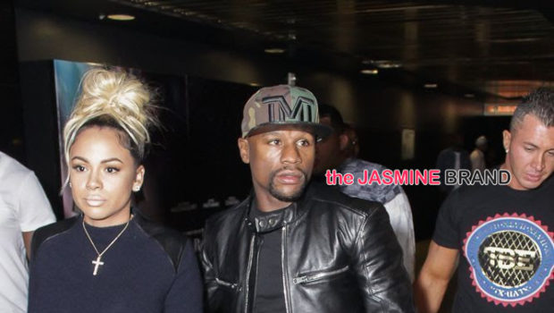 Floyd Mayweather & Girlfriend, Russell Simmons, Karrueche, Eva Marcille Attend All Def Comedy Live