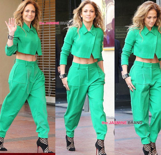 J.Lo Styles On Idol Set, Kelly Rowland's Precious Cargo Hits Barneys, Kim Kardashian & Kanye West Attend Lakers Game + Meagan Good, KeKe Wyatt, Christina Milian