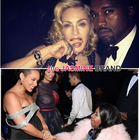 Kanye West-Madonna-Alicia Keys-Black Ball 2014-the jasmine brand