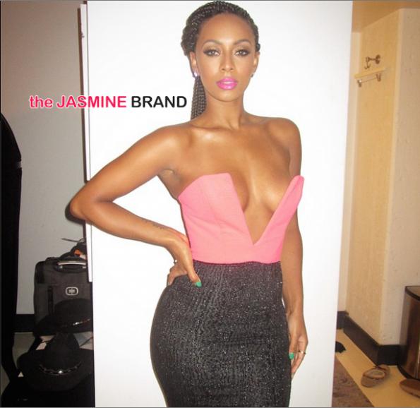 Keri Hils on glam-the jasmine brand