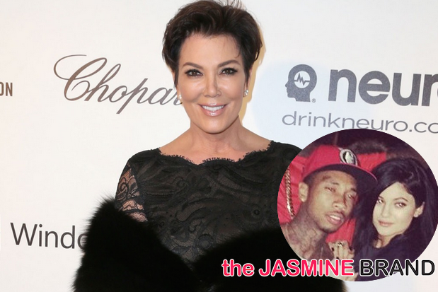 [Audio] Kris Jenner: Kylie Is NOT Dating Tyga!