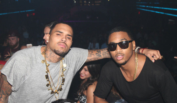 Chris Brown, Trey Songz, Ray J Party At Miami's LIV [Photos]