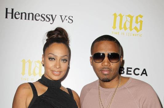 La La Anthony, Michael Strahan, Fab 5 Freddy, Q-Tip, Attend Nas' ILLMATIC Premiere
