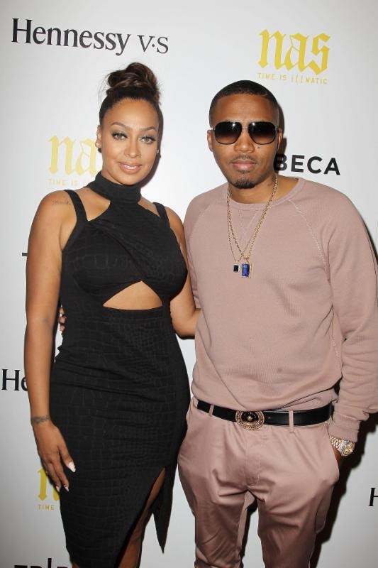 Lala-Nas-New York Premiere of NAS- TIME IS ILLMATIC-the jasmine brand