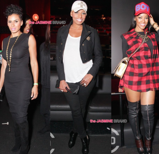 NeNe Leakes, Russell Simmons, Tami Roman, Laura Govan Spotted At 'All Def Comedy Live'