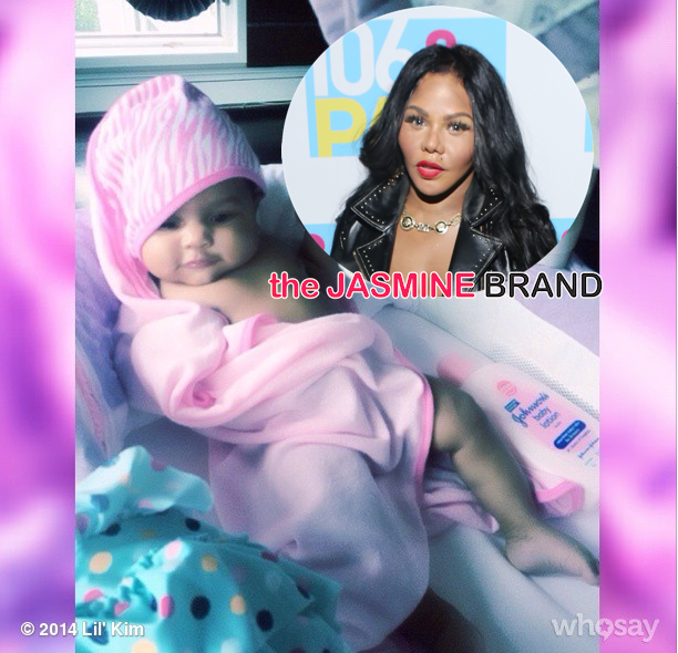 Kiddie Cuteness! Lil Kim Shares Photos of Baby Royal Reign