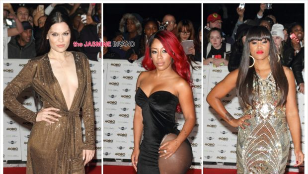 [Photos] K.Michelle, Eve, Jessie J Hit MOBO Awards Red Carpet + Complete List of Winners