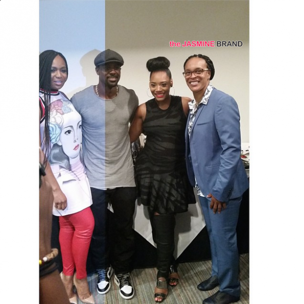Marlo Hampton-Lance Gross-Yandy Smith-Circle of Sisters Expo 2014-the jasmine brand.jpg