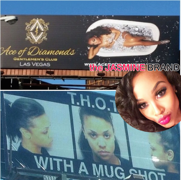 Love & Hip Hop Hollywood's Masika Has A T.H.O.T. Mugshot Billboard
