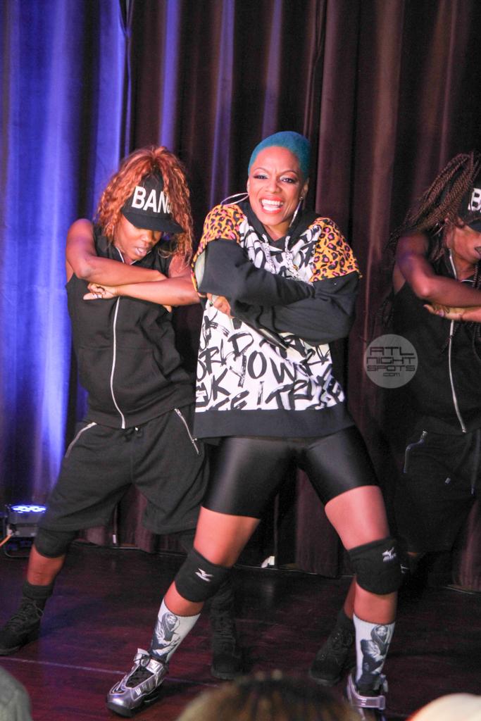 Missy Elliott Sharaya J at Suite Lounge  (44 of 58)