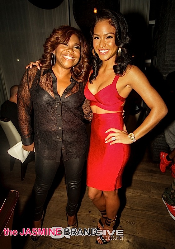 Mona Scott Young-Cassie Hosts Ciroc Dinner-REVOLT Music Conference 2014-the jasmine brand