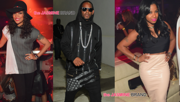 Spotted. Stalked. Scene. R.Kelly, Monica & Toya Wright Party in ATL