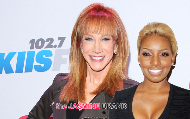 Nene Leakes Kathy Griffin Battling Over Joan Rivers Fashion Police Spot The Jasmine