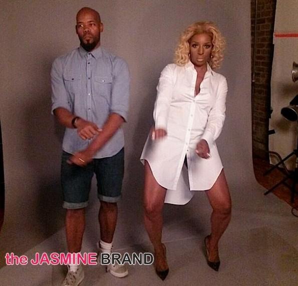 NeNe Leakes Photoshoot with Derek Blanks-behind the scenes-the jasmine brand
