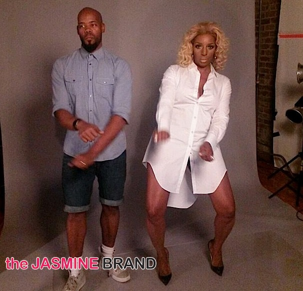 Behind the Scenes: NeNe Leakes Shoots With Derek Blanks