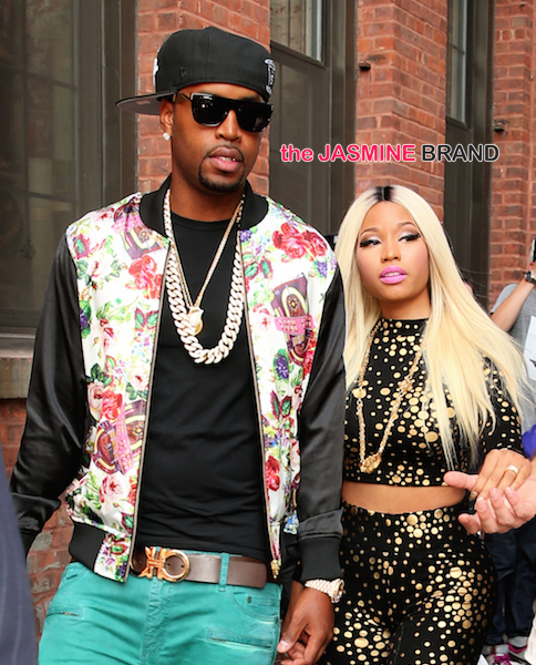 Nicki Minaj & Boyfriend Safaree Reportedly Split + Proof Is In the Tatts?