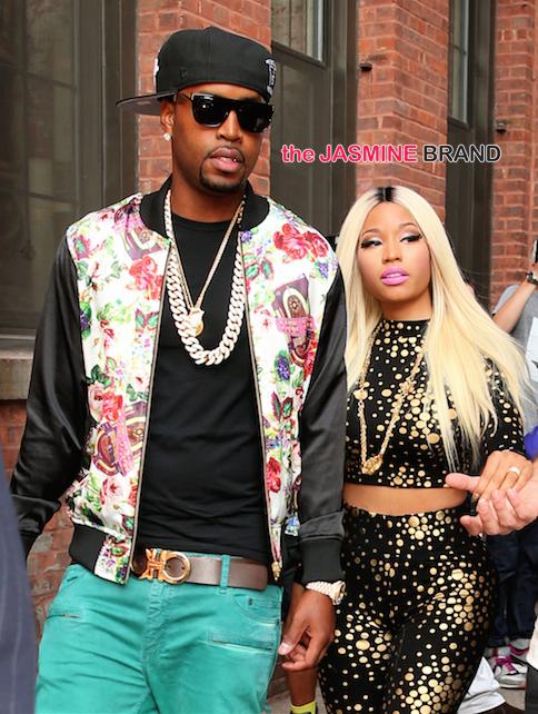 Nicki Minaj and boyfriend Safaree break-up-the jasmine brand