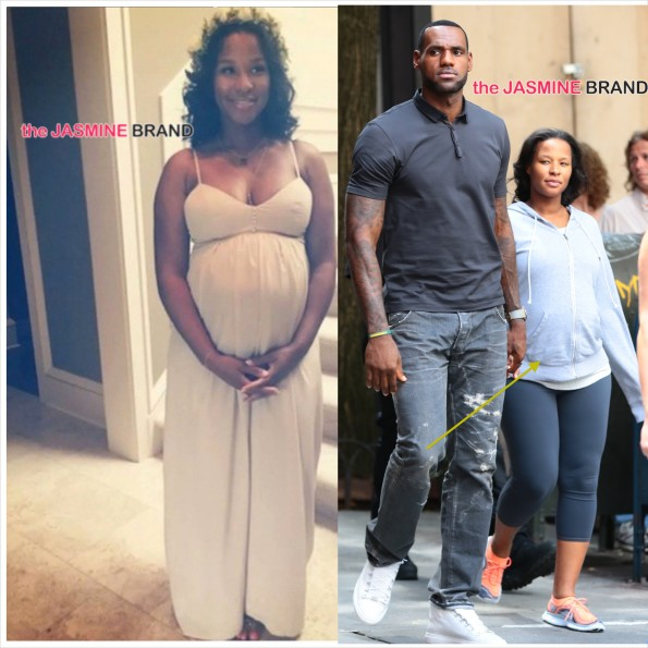 Ovary Hustlin-LeBron James Wife Savannah-Delivers Baby Girl-the jasmine brand
