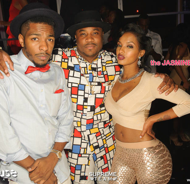 Club Scene: Larenz Tate, Kyla Pratt, Lola Monroe, Jas Prince Party in Hollywood [Photos]