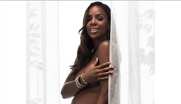 [Haute, Pregnant & Nude] Kelly Rowland Strips For ELLE: The Body Should Be Celebrated!