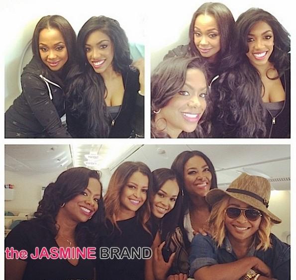 RHOA Cast Trip-Cynthia Bailey-Kenya Moore-Kandi Burruss-Phaedra Parks-Claudia Jordan-Porsha Williams-Demetria McKinney-the jasmine brand