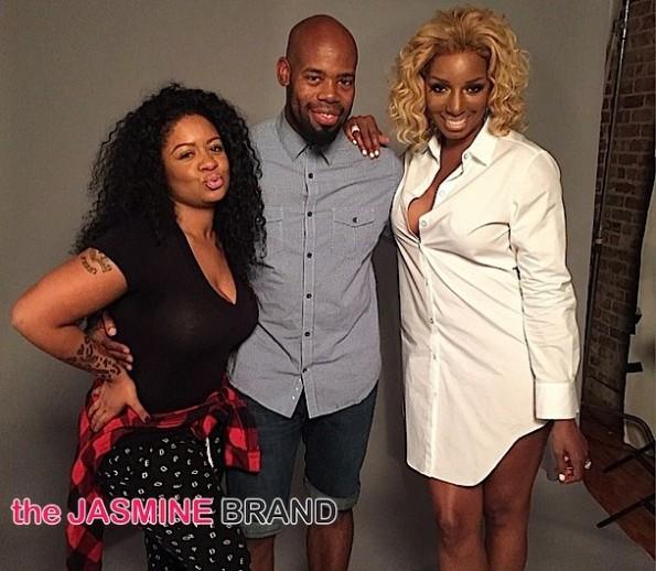 RHOA-NeNe Leakes Photoshoot with Derek Blanks-behind the scenes-the jasmine brand