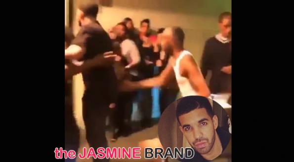 Rapper Drake-Fight Altercation-DC Stadium-the jasmine brand