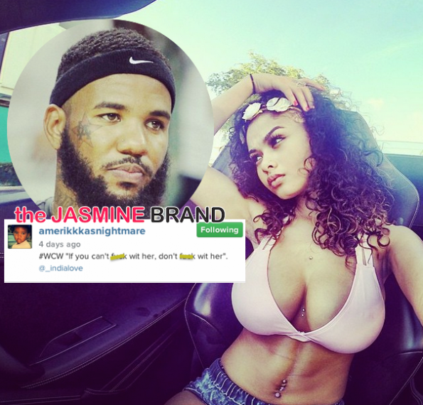 Rapper The Game-Denies Sex with 18 Year Old Rumored Girlfriend India Love Westbrook-the jasmine brand