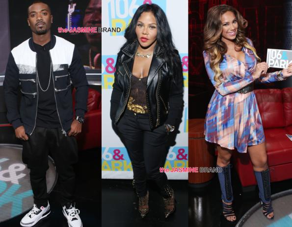 Ray J-Lil Kim-Erica Mena-BET 106 and Park 2014-the jasmine brand