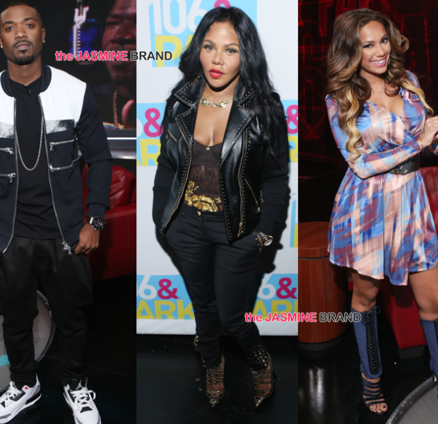 [Photos] Lil Kim, Ray J, Tiara Thomas Hit BET's 106 & Park