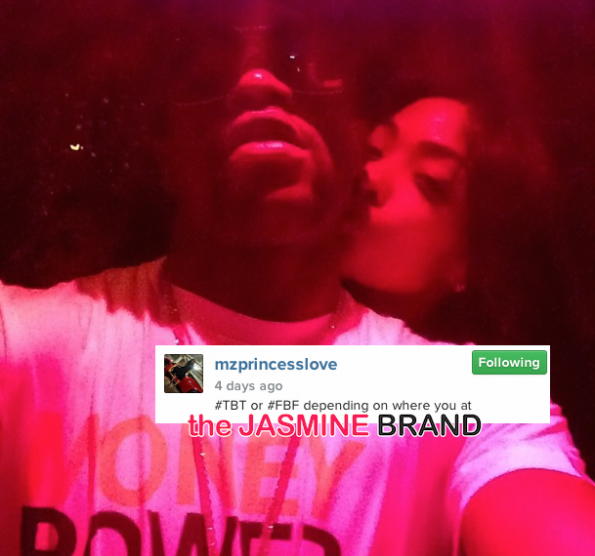Ray J and girlfriend Princess-break up-the jasmine brand