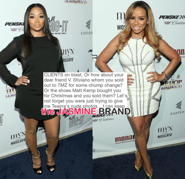 [War of the Words] Ray J's Girlfriend Princess & Ex-Assistant Get Messy on Instagram: You're a Madam!