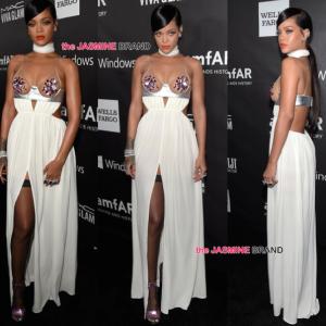 Rihanna-amFAR 2014-the jasmine brand
